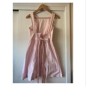Pink Zara open back dress